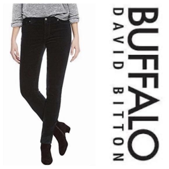 Buffalo David Bitton Denim - Buffalo David Bitton Royal Mid Rise Stretch Skinny